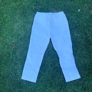 Loft White Business Pants